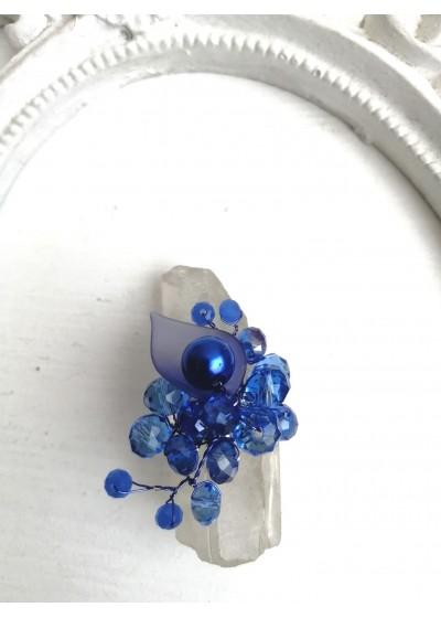 Нежен пръстен ръчна изработка от серията A Little Piece Of Heaven by Atelier Roses and Crystals