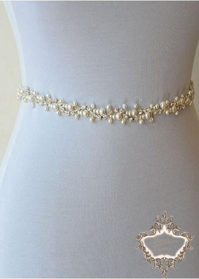 Колан за сватбена рокля - Pure pearls