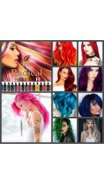Бои за коса без окислители за директно боядисване