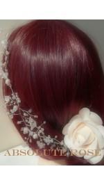 Диадеми фуркети и гребени за коса с цветя