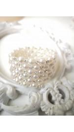 Гривни и пръстени с кристали и перли готови модели