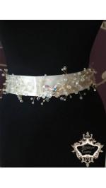 Кристални колани за булчински рокли