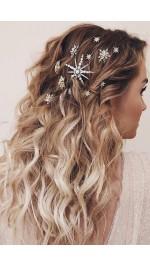 Кристални шноли, фиби и щипки за коса