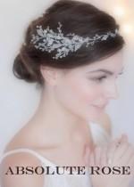 Къси дизайнерски украси за коса за официални поводи